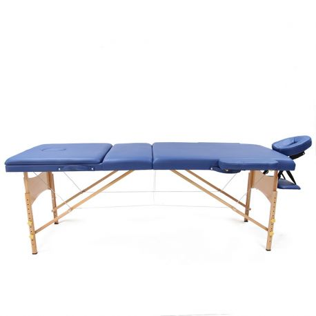 تخت ماساژ portable-massage-bed-wooden-blue